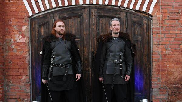 Перед открытием крипты Игры престолов в Большом винном хранилище на Винзаводе