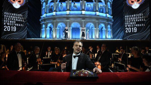 Дрижер Павел Клиничев, ставший лауреатом в номинации Балет/Работа дирижёра за спектакль Ромео и Джульетта в Большом театре
