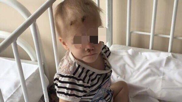 Ангелина в больнице в 2018 году