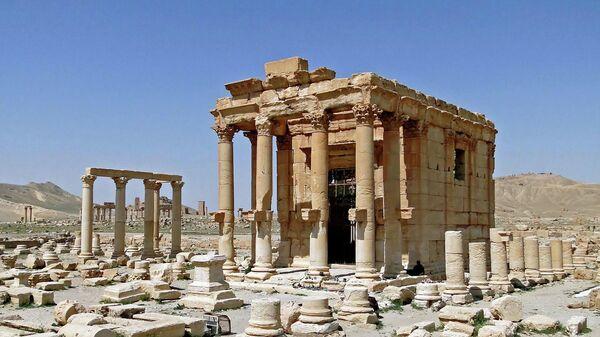 Храм Баалшамина в Пальмире. 2010 год