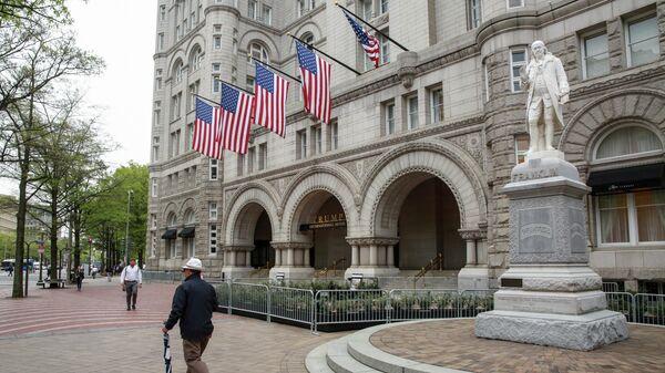 Гостиница Trump International в Вашингтоне. 18 апреля 2019