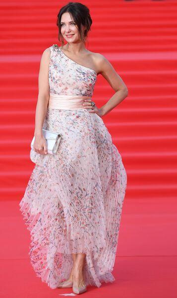 Актриса Екатерина Климова на открытии 41-го Московского Международного кинофестиваля (ММКФ)