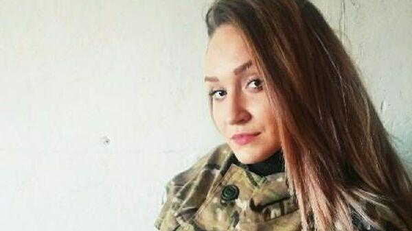 Двадцатитрехлетняя  ополченка пожертвовала собой