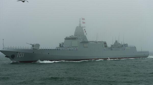 Новый эсминец Наньчан проекта 055