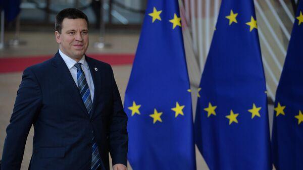 Премьер-министр Эстонии Юри Ратас