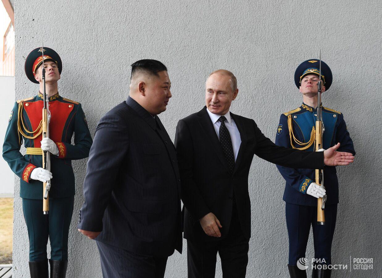 Саммит Россия-КНДР стартовал на острове Русский во Владивостоке