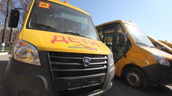 Парк школьных автобусов