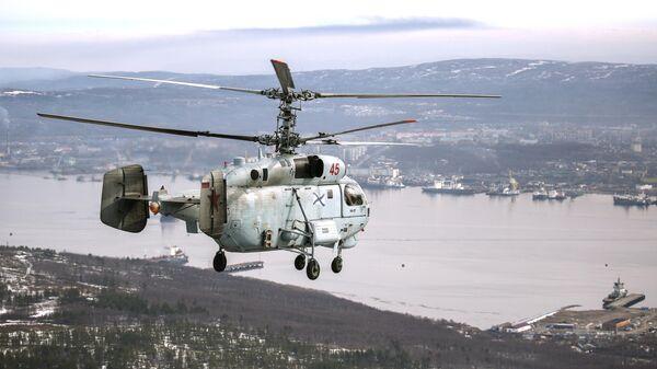 Вертолет К-27 Северного флота РФ