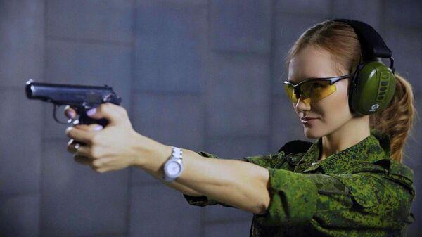 Младший сержант Сизова Ольга, г. Москва