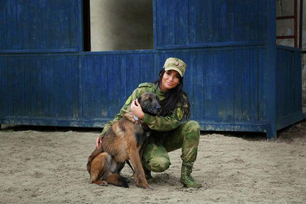 Ефрейтор Цыганова Кристина, г. Ростов-на-Дону
