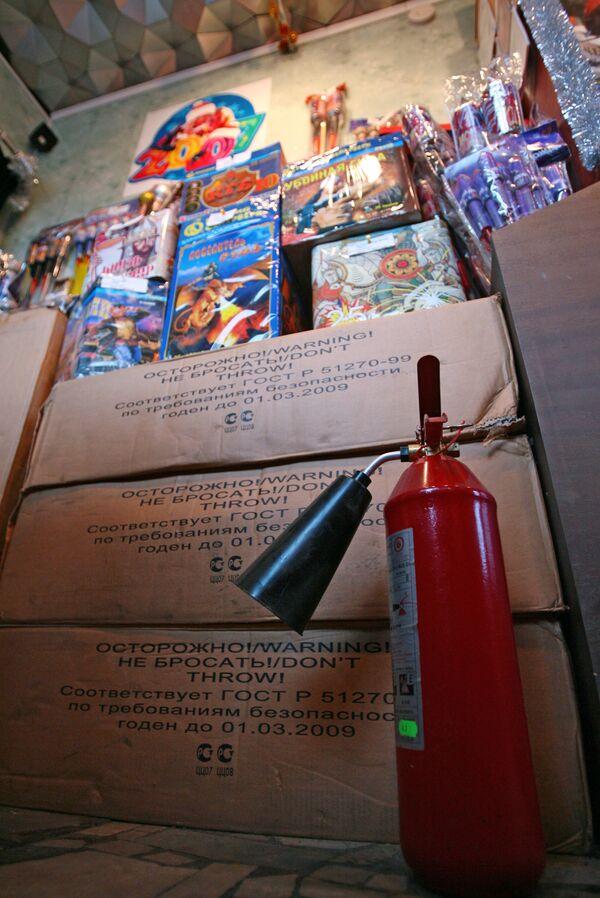 Противопожарные меры сократили число пострадавших от пиротехники в Новый год в Москве