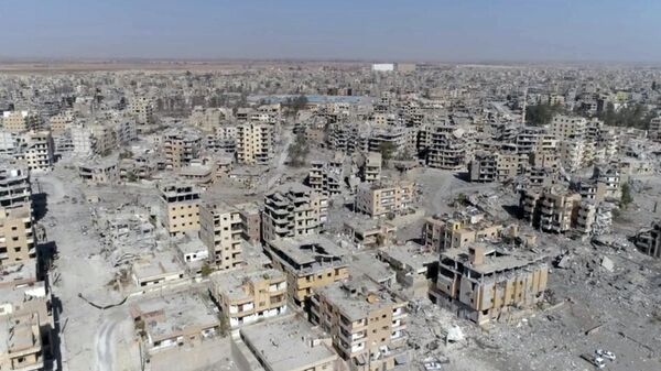 Город Ракка, Сирия