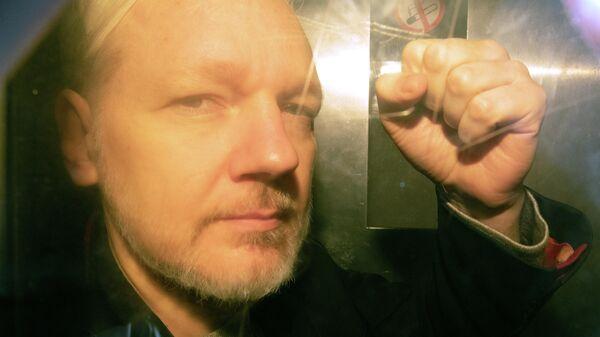 Основатель WikiLeaks Джулиан Ассанж в лондонском суде