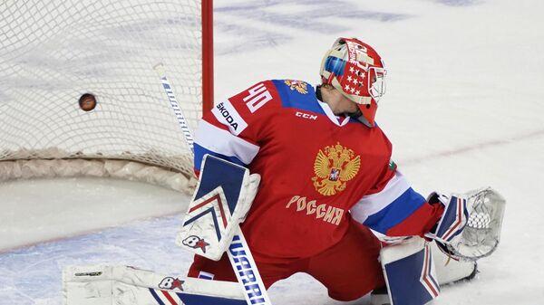 Георгиев будет защищать ворота сборной России в матче с финнами