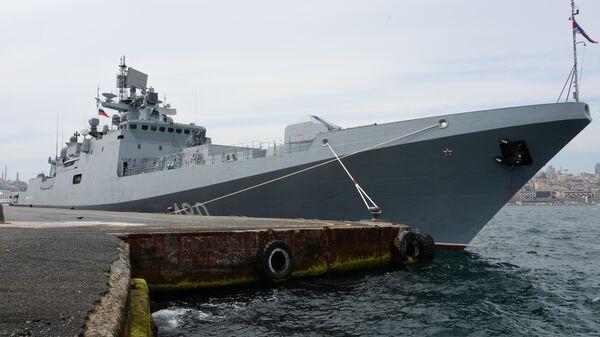 Сторожевой корабль проекта 11356 Адмирал Эссен Черноморского флота