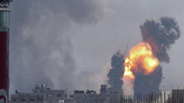 Атака израильской авиации в секторе Газа