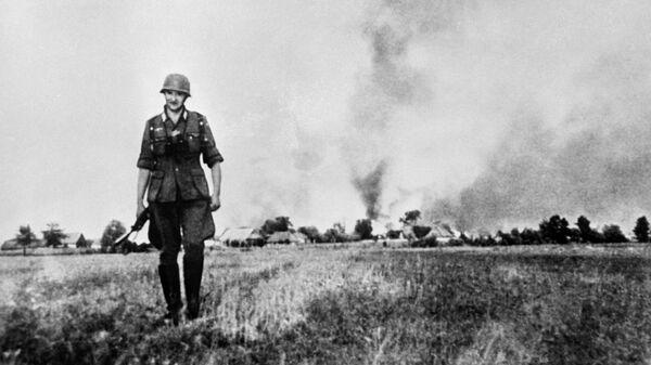 Великая Отечественная война. Гитлеровский солдат