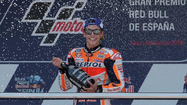 Испанец Марк Маркес из команды Repsol Honda