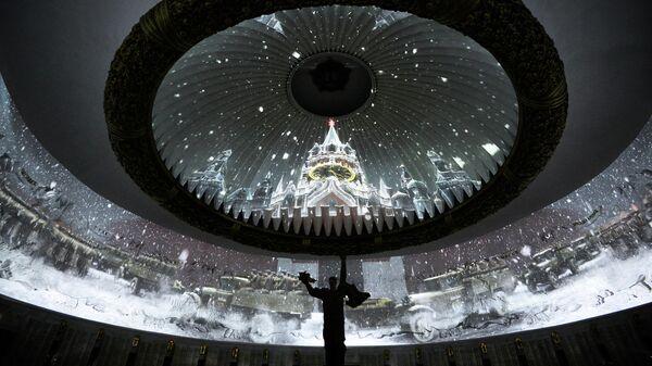 В Центральном музее Великой Отечественной войны на Поклонной горе в Москве