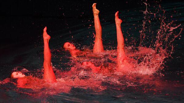 Синхронное плавание. Третий этап Мировой серии. Гала-концерт
