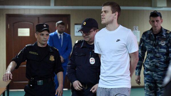 Адвокат попросил отправить Кокорина в колонию-поселение ради его здоровья