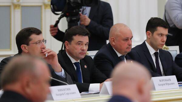 На заседании Совета по стратегическому развитию и приоритетным проектам, губернатор Московской области Андрей Воробьев