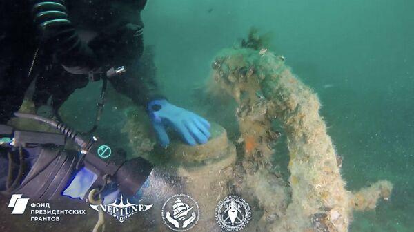 Поиски затонувших картин Айвазовского: видео