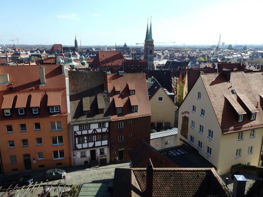 Нюрнберг. Вид из крепости
