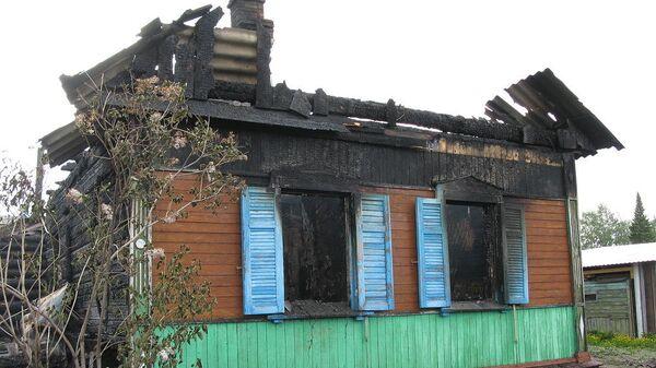 Последствия пожара в Куйбышевском районе Новокузнецка. 13 мая 2019
