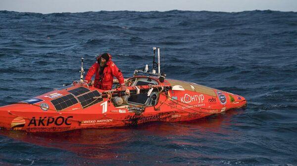Новый рекорд Конюхова: на веслах от Новой Зеландии до Чили