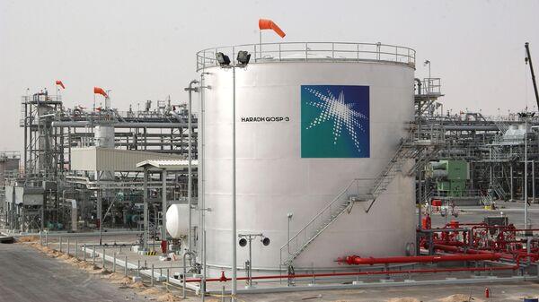Объект нефтетранспортной инфраструктуры компании Aramco в Саудовской Аравии