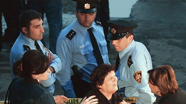 Грузинские полицейские