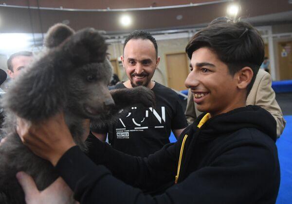 Касим Алькадим посетил Большой Московский цирк