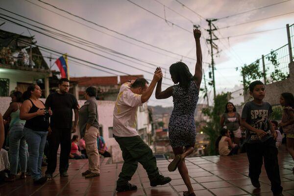 Танцы в Каракасе, Венесуэла