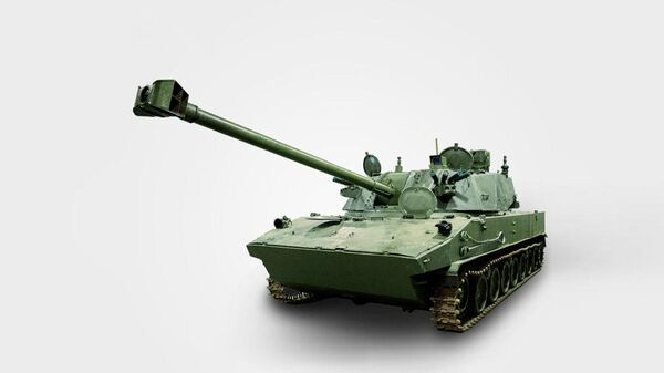 Самоходное артиллерийское орудие Лотос