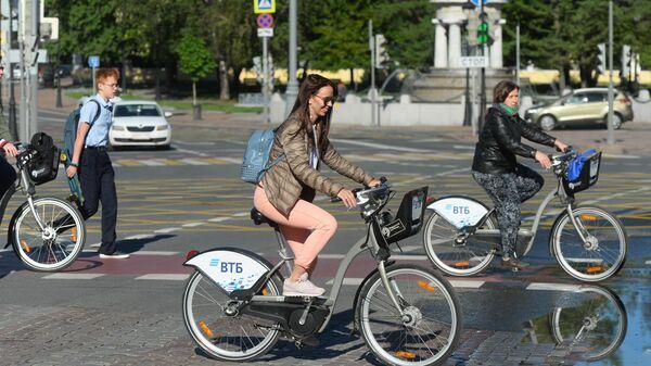 Прокат велосипедов в Москве