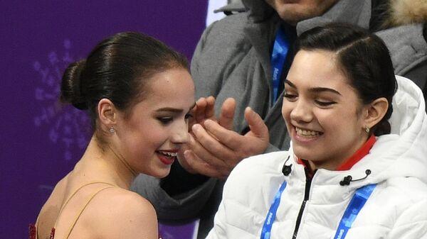 Олимпиада 2018. Фигурное катание. Команды. Женщины. Произвольная программа