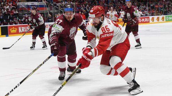 Хоккей. Чемпионат мира. Матч Латвия - Россия