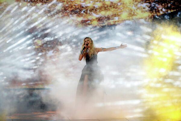 Певица Невена Божович (Сербия) в финале международного конкурса Евровидение-2019