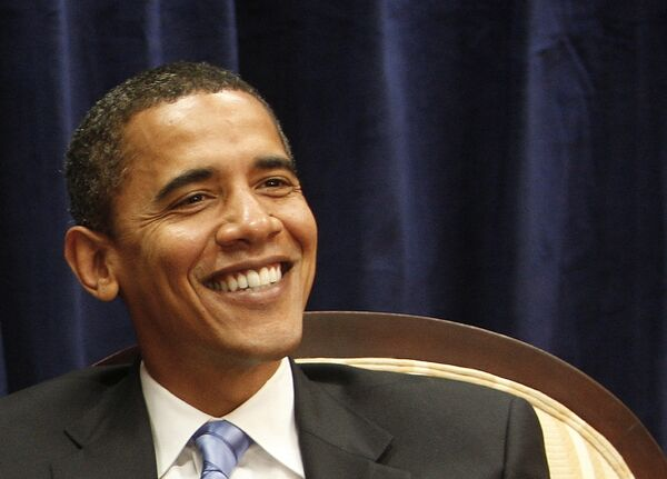 Избранный президент США Барак Обама в штабе переходной администрации в Чикаго