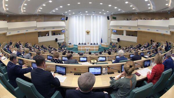 Заседание Совета Федерации РФ. 22 мая 2019