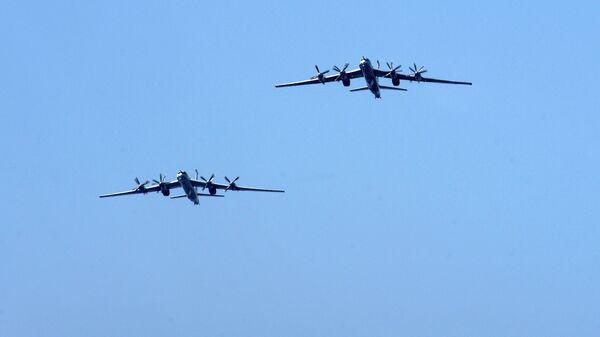 """Американские военные заявили о """"перехвате"""" двух российских Ту-95 у Аляски"""