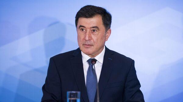 Генеральный секретарь Шанхайской организации сотрудничества Владимир Норов
