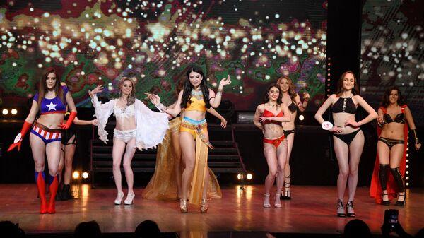 Участницы конкурса красоты Мисс Чита-2019 в Чите