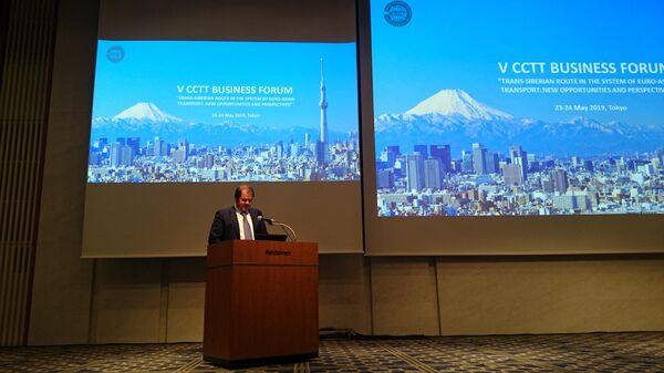 Замминистра транспорта России Владимир Токарев в Японии