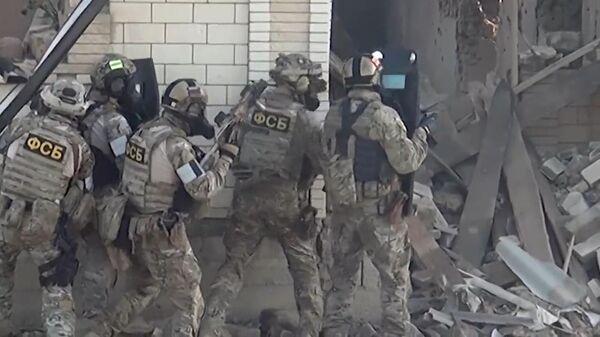 Нейтрализовано трое боевиков: кадры операции в Дагестане