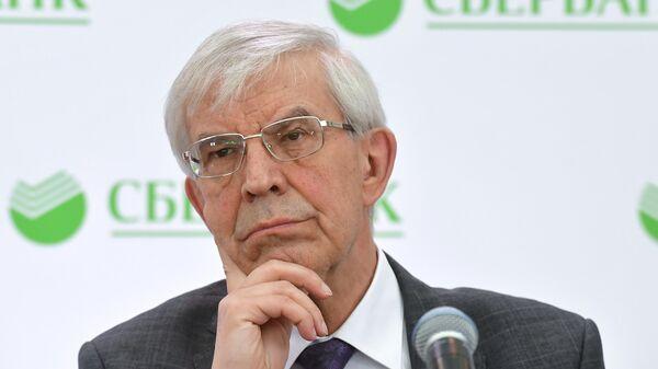 Экс-глава ЦБ Сергей Игнатьев сообщил на пресс-конференции по итогам годового общего собрания в Москве акционеров Сбербанка