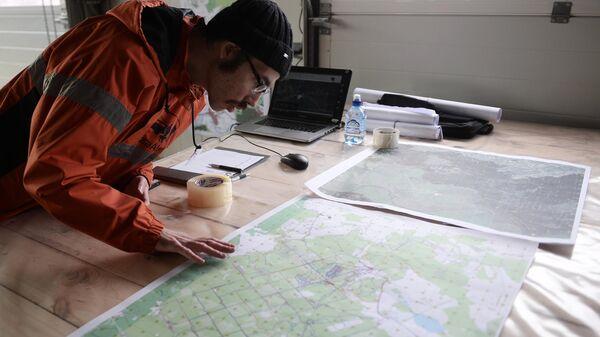 Сотрудник добровольного поисково-спасательного отряда Лиза Алерт