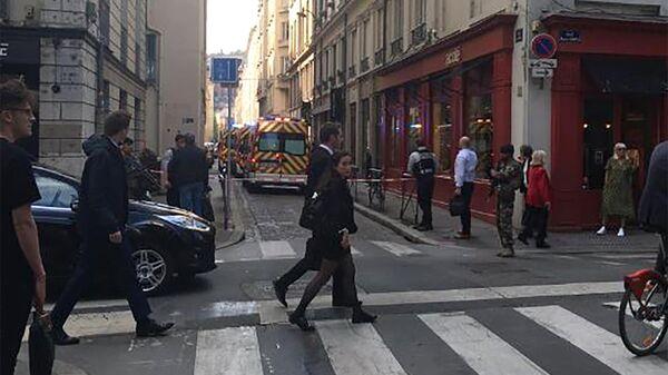 Ситуация в Лионе после взрыва, Франция. 24 мая 2019