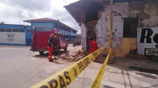 Ликвидация последствий землетрясения в регионе Лорето, Перу. 26 мая 2019